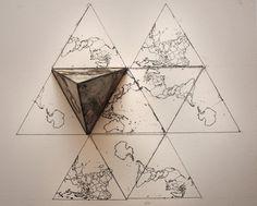AuthaGraph オーサグラフ 世界地図 もっと見る