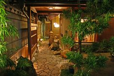 Hoshi Ryokan is considered the oldest hotel in the world. Located in the Awazu Onsen area of Komatsu.