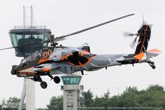 Boeing AH-64D 'Apache', 'Apache Demo Team' Royal Netherlands Air Force. Volkel Airshow / Luchtmachtdagen 14th &15th of June 2013 Volkel AFB - 100 years military aviation in The Netherlands.