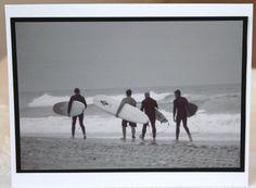 Photo Card California beach surfers black and by RoadAheadPhotos, $3.50 #castteam