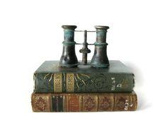 Antique Binoculars Opera Glasses Brass by RiverHouseDesigns, $49.00