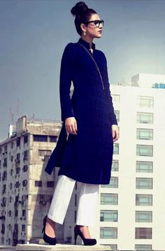 Fashion Trends Now: Latest Winter Collection 2013 For Women By The Working Woman Womens Fashion Online, Online Fashion Stores, Online Clothing Stores, Latest Fashion, Women's Fashion, Office Attire Women, Office Wear, Work Attire, Dress Indian Style