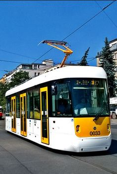 """Tram EVO1 called Evička""""- Made in Czechia 2015"""