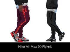HypeSim – NIKE AIR MAX 90 FLYKNIT (Male)