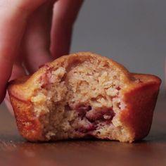 Strawberry Breakfast Muffins