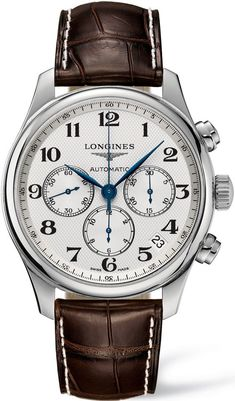 Longines Master Collection Stainless Steel Para saber más sobre los coches no olvides visitar marcasdecoches.org