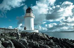 "Rudh An Duin Lighthouse (aka Port Charlotte & Loch Indaal Light) · Island of Islay · Inner Hebrides · Scotland (Pos.: 55°44""43'N   6°22""19'W); Nice shot of the Loch Indaal lighthouse, Islay via @Armin"