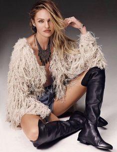 NWT Free People natural tan Shaggy Furry Fringy Cardi Sweater Coat Jacket M #FreePeople #shaggycardicoat