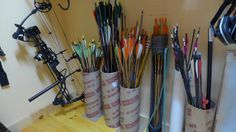 Archery storage for small spaces
