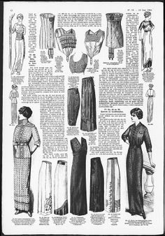 bust improver, short, and corset-cover brassieres from 1913 De Gracieuse