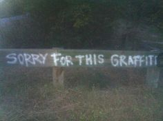 Graffiti You'll Only Find In Canada (via BuzzFeed)