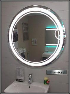 Oglinda baie rotunda Laura cu iluminare LED | Marmit - Obiecte sanitare Led, Interior Design, Mirror, Furniture, Home Decor, Nest Design, Decoration Home, Home Interior Design, Room Decor