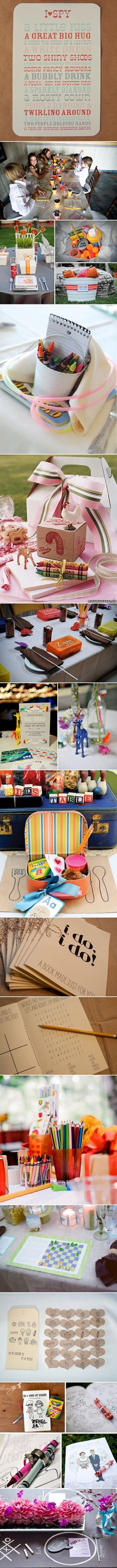 Great Ideas for Kids at a Wedding