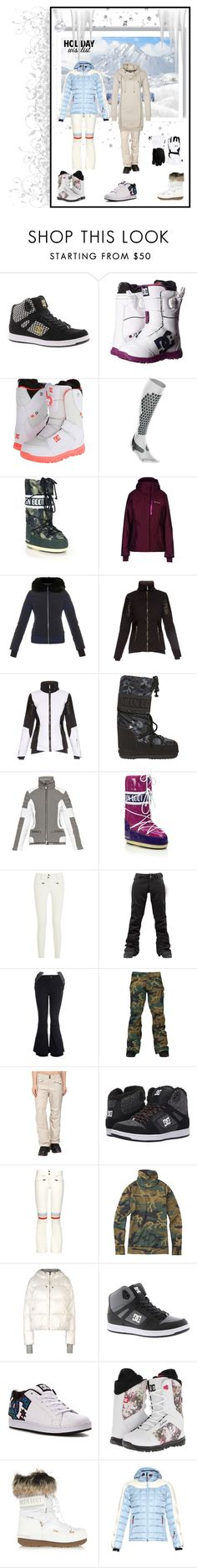 """Holliday Wish List 2015"" by misshollowpointslug ❤ liked on Polyvore featuring DC Shoes, 2XU, Moon Boot, Columbia, Fusalp, Christian Lacroix, Toni Sailer, Perfect Moment, Burton and adidas"