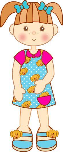 blog1409 clipart imagem decoupage figura menina (3) Art Drawings For Kids, Cartoon Drawings, Cool Drawings, Hand Applique, Applique Quilts, Creative Pictures, Art Pictures, Kids Background, Decoupage