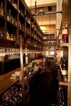 "Tradition - new bar in Tenderloin, from Bourbon & Branch guys. Book a ""snug"""