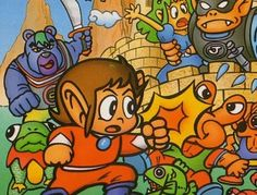 Alex Kidd. before Sonic, came this guy