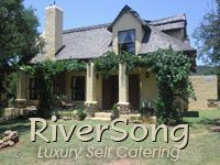Riversong Lodge, Nocturne and Goedgedacht are Tuscany style luxury chalets on the banks of the Vaal River.  Rejuvenate your soul and body!