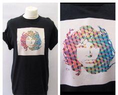 Jim Morrison Psych Unisex Graphic Tee by TheGrungeMonkey on Etsy