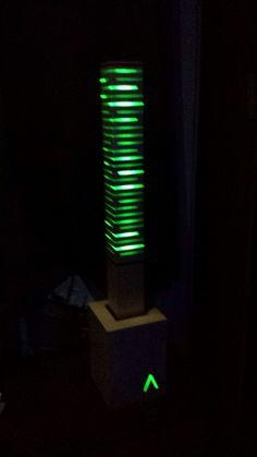 Lampe d'ambiance en bois