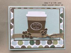 Stampin' Up! Coffee Cafe – Stamp It Up with Jaimie