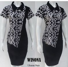 Batik Fashion, Fashion Sewing, Work Fashion, Batik Blazer, Blouse Batik, Model Dress Batik, Batik Dress, Frock Patterns, Batik Kebaya