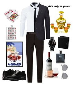 """""""Monaco 🇲🇨"""" by silentpoet ❤ liked on Polyvore featuring Dolce&Gabbana, Joseph, Stacy Adams, Mark & Graham, Yves Saint Laurent, Rado, Chanel, Mulberry, men's fashion and menswear"""