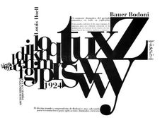 Theres nothing quite like Bodoni