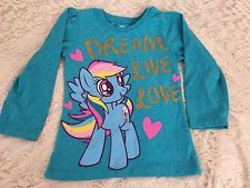 My Little Pony Rainbow Turquoise Gold Glitter Graphic Tshirt Size 4T Hasbro Love in Clothing, Shoes & Accessories, Kids' Clothing, Shoes & Accs, Girls' Clothing (Sizes 4 & Up), Tops, Shirts & T-Shirts | eBay