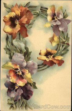 No por muy difundidas, dejan de ser hermosas, Katrie, me pidió letras vintage de flores y estas me parecieron las mas hermosas a igual que s...