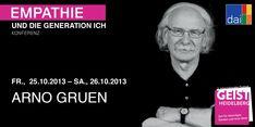 Empathie und die Generation Ich - Arno Gruen Es macht immer wieder Freude diesem grossen Denker zuzuhoeren. Er fehlt.