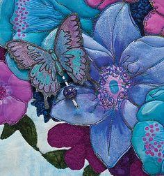 Painted Garden - detail