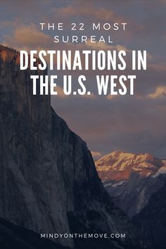 Must travel to destinations in the USA West || crazy beautiful places || The abounding beauty in the American west is quite staggering.  Everywhere you drive, you're inundated with a jaw-dropping, breath-taking scene.  #usa #ustravel #usatravel #nationalparks #findyourpark