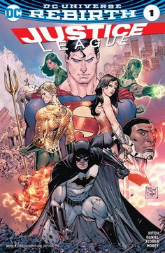 Justice League (2016) #1 #DC @dccomics #JusticeLeague (Cover Artist: Ebas, Brad Anderson, Ed Benes, Tony Salvador Daniel & Terry Dodson) Release Date: 7/20/2016