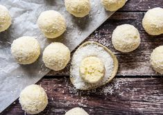 Lemon Cheesecake Bliss Balls with Thermomix Instructions