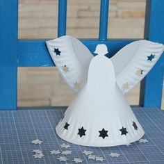 Paper Plate Angels  #Christmas #KidsActivities