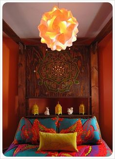 Love this carved mandala in the wood for a decorative piece!  #boho #home #mandala