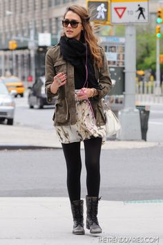 Jessica Alba out in New York City, New York - May 8, 2012