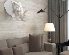 Umelecký drevený 3D obraz s hlavou slona v 9 farbách Elephant Head, Decoration Piece, Animal Heads, Wall Decor, Curtains, Guangzhou, Crafts, Home Decor, Wall Hanging Decor