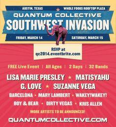 Quantum Collective Southwest Invasion (March 14) #sxsw2014