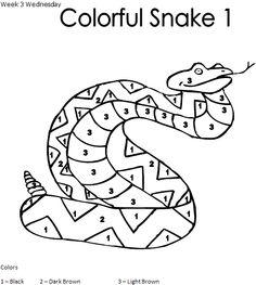 Free Printable Reptiles Big Race Worksheet