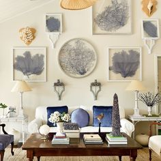 16 Creative Gallery Wall Ideas - Coastal Living ~ETS #gallerywall