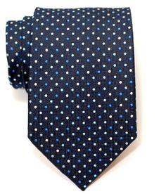Premium Vintage Three-Colour Polka Dots Woven Men's Tie - Navy Blue Retreez,http://www.amazon.com/dp/B00A7742H8/ref=cm_sw_r_pi_dp_jog8qb06P7RE26YK