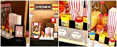 Popcorn Station, Station 11, High School Graduation, Graduate School, Movie Party, Book Club Books, Birthday Parties, Celebration, Projects To Try
