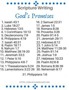 Scripture Writing Plan - God's Promises - Victorious Living quotes quotes about love quotes for teens quotes god quotes motivation January Scripture Writing, Daily Scripture, Scripture Reading, Scripture Study, Scripture Journal, Grief Scripture, Scripture Memorization, Prayer Scriptures, Bible Prayers