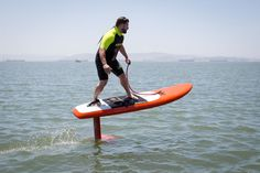 Jetfoiler The Motorized Hydrofoil Attached To A Surfboard Takes Surfing To New Extreme Heights  #fun #sports #surfing Do you like being on the water, surfing, sailing, kayaking, or windsurfing? If you do, there is a new and faster way of getting around, it's called ...