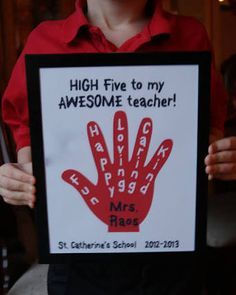 This years inspiration for Teacher Appreciation week. Easy Teacher Appreciation Gift Idea for Catholic Schools WeekOrganic Living for a Healthy Family Handmade Teachers Day Cards, Happy Teachers Day Card, Greeting Cards For Teachers, Teachers Day Greetings, Teacher Thank You Cards, Teachers Day Gifts, Teacher Gifts, Birthday Card For Teacher, Teacher Postcards