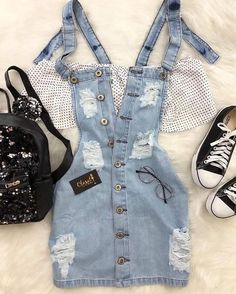 Best Cute Fall Outfits Part 8 Teen Fashion Outfits, Cute Fashion, Outfits For Teens, Girl Outfits, Womens Fashion, Tumblr Outfits, Mode Outfits, Cute Casual Outfits, Cute Summer Outfits