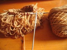 Waldorf Doll - Hair (in progress) by oxfordkitchen, via Flickr