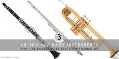 We're on day three of the 12 Deals of Christmas at Teen Jazz   A Community for Musicians!  Today's deal is 60-70% off Band Instruments from the Rheuben Allen Saxophones Education Foundation. If you're thinking about doubling or know a student musician who needs an instrument, these are really great deals.  This offer expires in 24 hours so don't miss out!